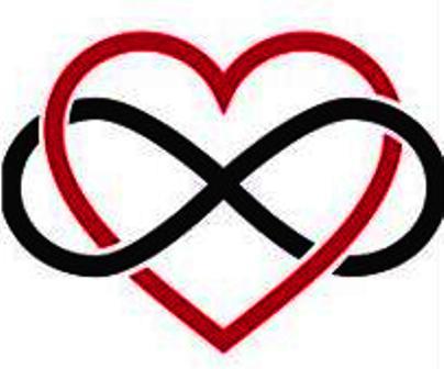 INFINITE SYMBOL HEART